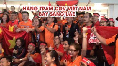 MC Phan Anh cùng 247 khán giả sang UAE cổ vũ đội tuyển Việt Nam