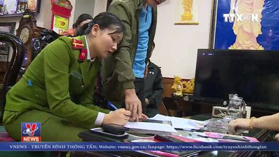Hà Tĩnh: Triệt xóa đường dây lô đề, bắt giữ 8 đối tượng