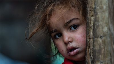 Thảm cảnh cuộc sống người tị nạn Syria ở Lebanon vì bão mùa đông