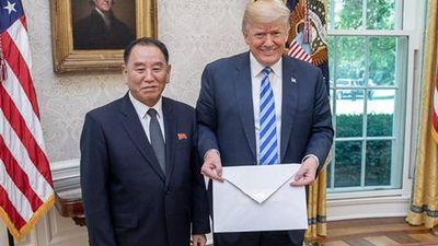 Tổng thống Trump sắp nhận thư từ Bình Nhưỡng