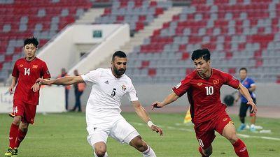 Hai lần bất phân thắng bại giữa ĐT Việt Nam và Jordan