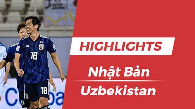 Highlights Asian Cup 2019: Nhật Bản 2-1 Uzbekistan