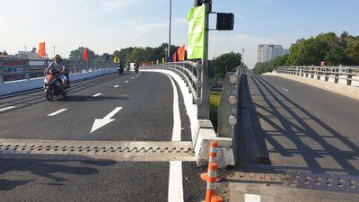 Thông xe cầu vượt Nguyễn Kiệm giải tỏa ùn tắc đường vào Tân Sơn Nhất
