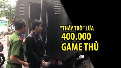 Ba 'thầy trò' lập website giả lừa 400.000 game thủ, kiếm bạc tỉ