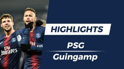 Highlights PSG 9-0 Guingamp