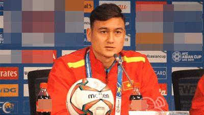 Không phải bạn gái, trước trận quyết chiến Jordan thủ môn Đặng Văn Lâm tiết lộ thứ tuyển Việt Nam luôn nhớ mỗi khi xa nhà