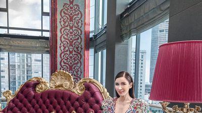 Thời trang chất phát ngất của yêu nữ hàng hiệu giàu có nhất nhì Singapore Jamie Chua