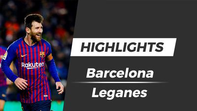 Highlights Barcelona 3-1 Leganes