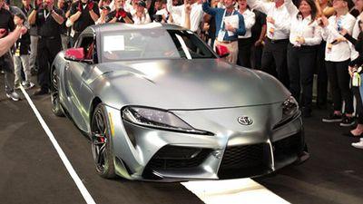 Toyota GR Supra 2020 đầu tiên bán giá 48,7 tỷ đồng