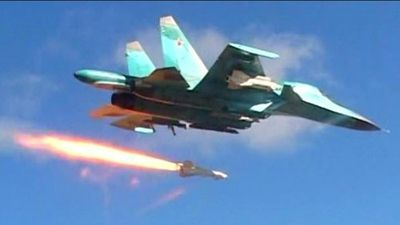 Chiến đấu cơ Nga phá nát 'trụ sở' của khủng bố HTS tại Idlib