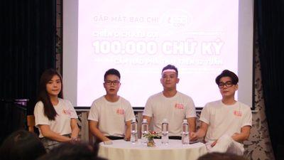 Đổi tên chiến dịch nạo phá thai, hai chàng trai nhanh chóng thu về hơn 100.000 chữ ký