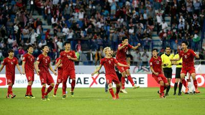 Khoảnh khắc làm khán giả 'rụng tim' ở trận Việt Nam – Jordan tại Asian Cup 2019