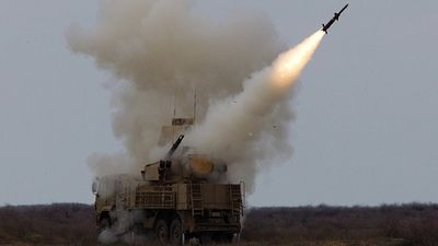 Hệ thống phòng không Pantsir-S1 của Syria nổ tung trong đợt không kích từ Israel