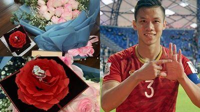 Phá lưới Jordan, Quế Ngọc Hải tặng nhẫn kim cương bà xã hoa khôi nhân dịp kỷ niệm 1 năm ngày cưới
