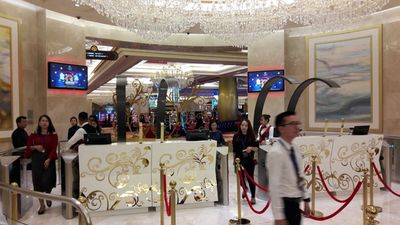 Clip: Cận cảnh casino hợp pháp đầu tiên mở cửa cho người Việt vào chơi