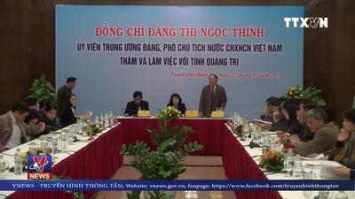 Phó Chủ tịch nước chúc Tết tại tỉnh Quảng Trị