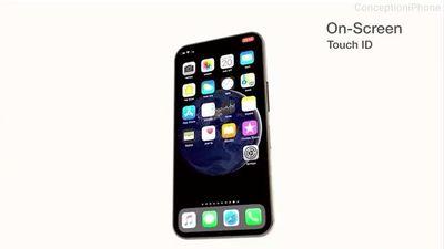 Concept iPhone 11 với 3 camera, vân tay dưới màn hình