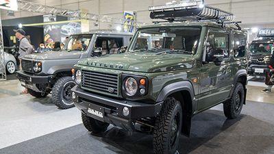 Chạm mặt Suzuki Jimny 'nhái' Land Rover và Mercedes G-Class
