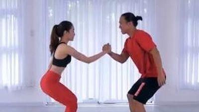 CLIP: Sở hữu vóc dáng hoàn hảo chỉ với 5 phút tập gym cùng 'gấu'