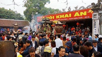 Cán bộ tham gia cướp lộc đền Trần sẽ bị phê bình