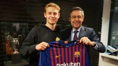 Barca chiêu mộ thành công ngôi sao người Hà Lan