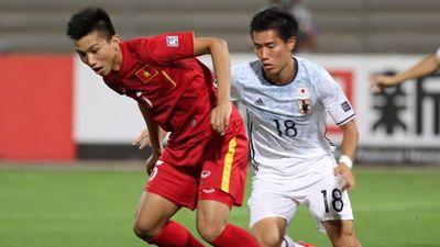 Quang Hải, Văn Hậu từng thua 0-3 trước người Nhật