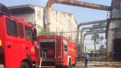 Cháy lớn trong công ty, 1 người chết, 1 người bị thương