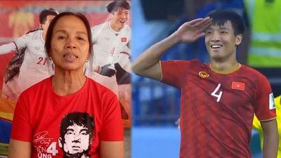 Xúc động lời nhắn của mẹ Bùi Tiến Dũng trước tứ kết Asian Cup 2019