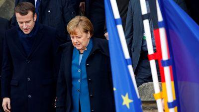 Đức, Pháp ký hiệp ước đoàn kết, sẵn sàng đương đầu thử thách