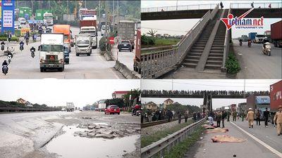 Tai nạn 8 người chết ở Hải Dương: Lộ nhiều bất cập trên quốc lộ 5