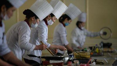 Kỳ lạ cuộc thi nấu ăn ở Triều Tiên