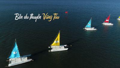 Thuyền buồm rực rỡ 'khoe sắc' trước ngày khai mạc giải đua thuyền Vũng Tàu Marina