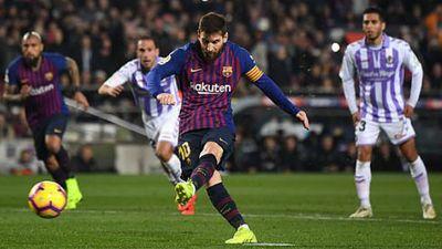 Lionel Messi có thành tích ghi bàn ấn tượng trong 11 mùa liên tiếp