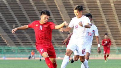 Highlights: U22 Việt Nam 2-1 U22 Philippines