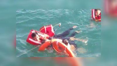 Một Việt kiều Mỹ tự ý nhảy xuống biển khi tàu đang chạy