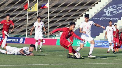 U22 Việt Nam 2-1 U22 Philippines: Màn lội ngược dòng trong vòng 4 phút