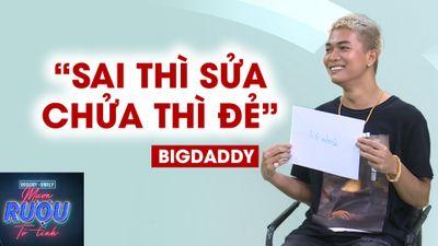 BigDaddy và cảm giác khi lần đầu làm bố: Rất sốc
