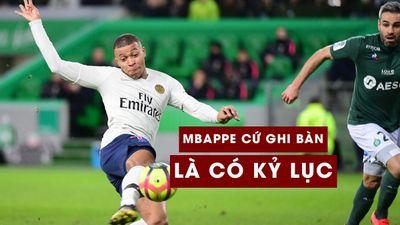 Mbappe phá kỷ lục tồn tại 45 năm tại Ligue 1