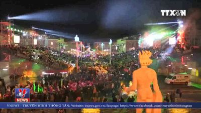 Rực rỡ lễ hội carnival ở Pháp