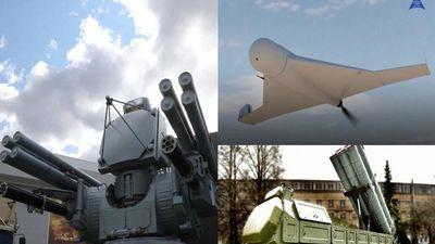Ngắm dàn vũ khí 'khủng' của Nga