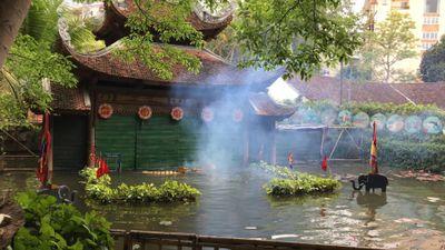 Hơn 700 làng múa rối nước Nguyên Xá