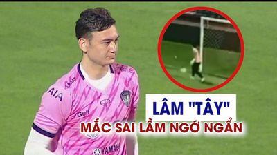 Lâm 'Tây' mắc sai lầm ngớ ngẩn trong trận đầu tiên cho Muangthong United