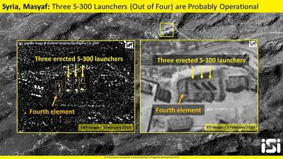 ISI cung cấp ảnh vệ tinh S-300 - Tồn tại nghi ngờ gì trong năng lực phòng không Syria?
