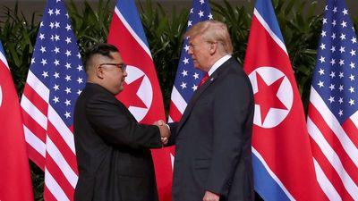 Cuộc gặp thượng đỉnh Mỹ-Triều lần đầu tiên qua ảnh