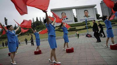 Bài hát chào buổi sáng lạ lùng ở Triều Tiên