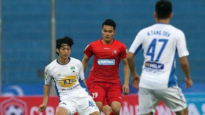 Trực tiếp S.Khánh Hòa vs HAGL: Tuấn Anh trở lại cùng băng đội trưởng