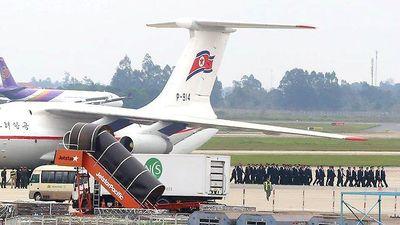 Đoàn tiền trạm của Triều Tiên tới Hà Nội
