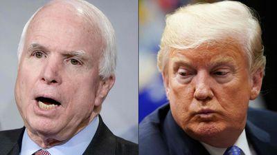 TT Trump liên tục công kích John McCain, bị con gái TNS mỉa mai