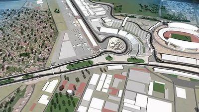 Hình dáng đường đua F1 xây dựng tại Hà Nội