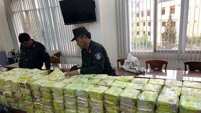Cận cảnh hơn 300kg ma túy liên quan đường dây ma túy 'khủng' nhất TP.HCM